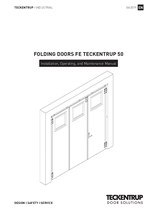 Installation Manual folding doors