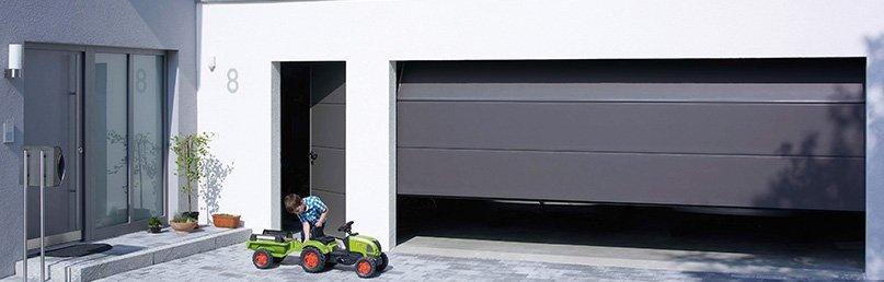 Garagentor mit integrierter tür  Sektionaltor | Hochwertig & Individuell » Made in Germany | Teckentrup