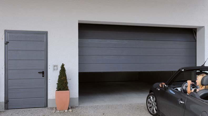 Garagentor mit integrierter tür  Ihr neues Garagentor