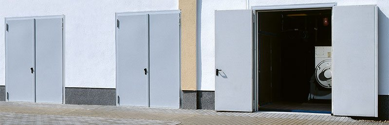 Sound insulation door Teckentrup