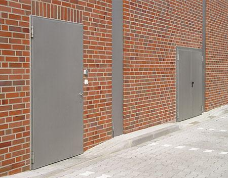 Multi-purpose steel doors anthracite